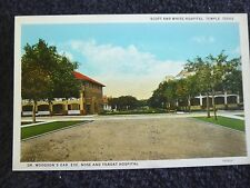 1920's The Scott & White and Dr. Woodson's Hospitals in Temple, TX Texas PC
