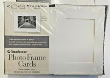 Strathmore St 105 250 Photo Frame Cards Sets White