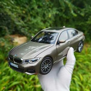 1/18 Norev BMW 3 series G20 330i 2019 Metal Diecast Car Model Toys Gifts Gray
