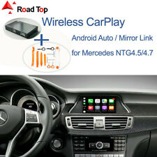Carplay Android Auto Retrofi Box for Benz CLS W218 2011-2015 with Removal Tools