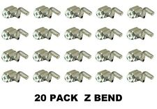 20 Pack Universal Cable Wire Stop Z Bend Rotary 14819
