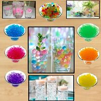 2500 Aqua Water Beads Crystal Soil Bio Gel Ball Wedding Vase Table Centerpiece
