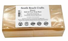 2 lbs Honey Melt And Pour Soap Base DIY Making Supplies