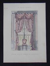 LA TENTURE FRANÇAISE 1904 - Fenêtre Louis XV - ameublement décoration 118