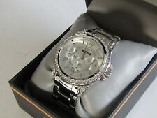 Kenneth Cole Unlisted Ladies Stainless Steel Watch With Crystals UL 0924