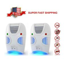 Non-toxic Ultrasonic Insect Pest Repeller Repellent - Set of 2