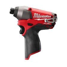 "New Milwaukee M12  2453-20  Fuel  Brushless 1/4"" Hex 2-speed  Impact Driver"