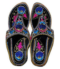 INDIAN RAJASTHANI TRADITIONAL ETHNIC PARTYWEAR SLIPPER FOOTWEAR SANDAL SHOES