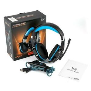 Kotion Each Pro Gaming Headset for for PC, Nintendo Switch ,PS4,Xbox One-Blue