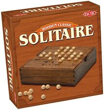 Solitaire: A Wooden Game Classic by Tactic - Ages 7+ - 1 Player - game no14025