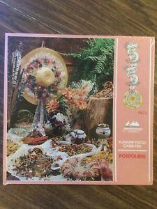 NEW SEALED VINTAGE POTPOURRI puzzle 550 Pieces