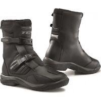 Scarpe stivali bassi moto touring adventure Tcx Baja Mid WP nero black boots