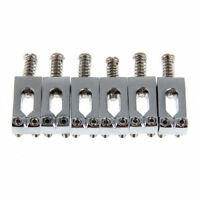 6 Roller Bridge Tremolo Saddles Wrench  For Fender Strat Tele Electric Guitar