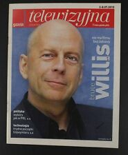 BRUCE WILLIS  mag.FRONT cover 2010 Poland,   Drew Barrymore