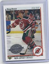 10-11 2010-11 UPPER DECK DOUG BROWN 20TH ANNIVERSARY FRENCH BUYBACK 159 DEVILS