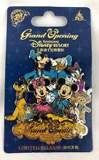 Shanghai Disney Resort Pin Grand Opening Mickey Minnie Pluto Goofy & Duffy New
