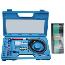 "1/8""  Pneumatic Micro Air Pencil Die Grinder Polishing Engraver Tool Kit"