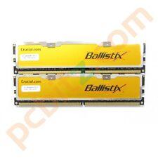 Crucial Ballistix BL12864AA804 2GB (2 x 1GB) PC2-6400 800MHz DDR2 di memoria di gioco
