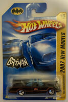 2007 Hotwheels 1966 TV Series Batmobile New Models Long Card Very Rare Mint MOC!