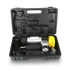 Heavy Duty Air Compressor Hi Speed for Car Van Tyre Inflator Pump 150PSI 12 Volt