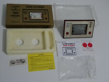 "Nintendo GAME & WATCH "" CHEF "" Wide Screen G&W 1981"