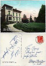Cartolina di Mosso Santa Maria, hotel ristorante - Biella