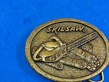 Skill Saw - Skill corp hand tool belt buckle for carpenter builder, construction