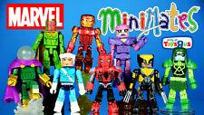 Marvel Minimates Wave 19 Iron Man Quicksilver ToysRUs Exclusive USED Lot of 8