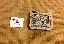 <LOT#e NEW 1 TIM HOLTZ PHOTO CAMERA STAMP FROM BLUEPRINT ASSORTMENT SET CARDS