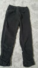 TODDLER GIRLS OVS  KIDS OLIVE GREEN VELOUR PANTS  SIZE 3-4 YEARS OLD