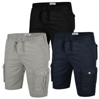 Mens Cargo Combat Shorts Stallion Chino Summer Cotton Casual Half Pants Work New