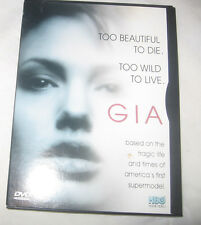 Gia DVD, 2000, Multiple Languages Mercedes Ruehl, Faye Dunaway, Angelina Jolie