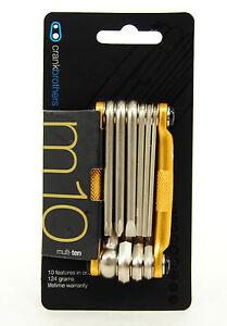 Crank Brothers M10 MTB Multi-Tool Gold