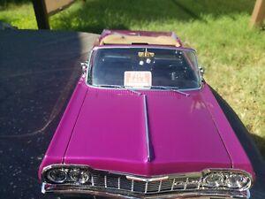 Convertible Redcat SixtyFour Hopping Lowrider purple Kandy Chrome Impala SS