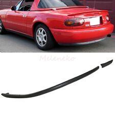1990-1997 Mazda Miata Rear Bumper Lip Kits Spoiler Mazda MX5 NA PU