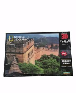National Geographic SUPER 3D PUZZLE: Ancient China: The Great Wall