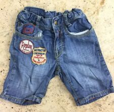 Replay And Sons Boys 18 Months Denim Shorts