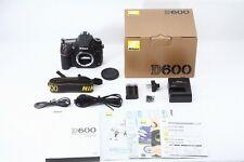C013-820***Near  Mint++***Nikon D600 Desital SLR  in Box  from Japan