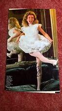 Original-Autogramm von Ute Lemper, Farb-Magazinbild, groß 29 x 19 cm