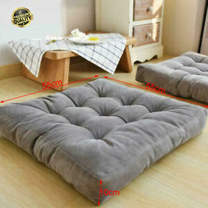 Extra Large Chair Cushion Seat Pads 55cm Outdoor Thick Garden Patio Seat Cushion