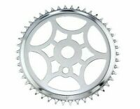 "Lowrider Cruiser Bicycle Steel Sprocket Chrome SS-315 1/2"" X 1/8"" 46 T Bike"