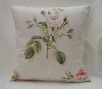 "Shabby Chic Sanderson Designer Cushion Covers ""ENGLISH ROSE"" Fabric Various"