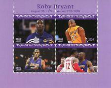 Madagascar Basketball Stamps 2020 CTO Kobe Bryant Famous People Sports 4v M/S