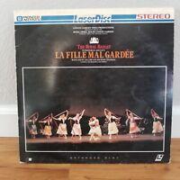 La Fille Mal Gardee / The Royal Ballet LASERDISC  Buy 6 for free shipping