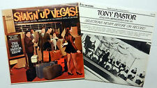 TONY PASTOR and his ORCHESTRA lot of 2 LPs