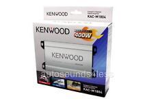 Kenwood KAC-M1804 400 Watts 4-Channel Marine ATV Motorcyle Audio Amplifier New