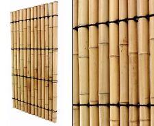 Bambuszaun mit vollen Rohren 150x120cm - Sichtschutzwand Bambus Zaun Apas