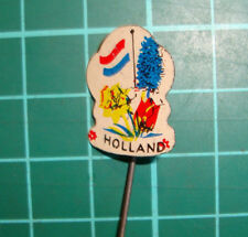 Holland Netherlands stick pin badge 60s speldje dutch tullip