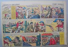 Lone Ranger Sunday Page by Fran Striker and Charles Flanders from 3/26/1939