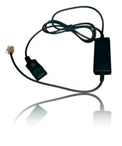 Avaya 1216 OEM Cable for Jabra Headsets | Use with Avaya 1600 Series and 9600 Se